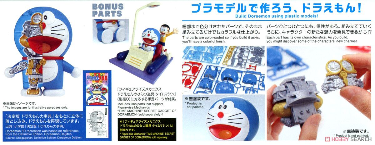 Figure-rise Mechanics Doraemon (Plastic model) Item picture11