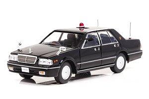日産 セドリック CLASSIC SV (PY31) 1999 警察本部警備部要人警護車両 (Black) (ミニカー)