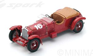 1:43 Ixo Alfa Romeo 8 C Winner Le Mans 1931 Birkin//Howe