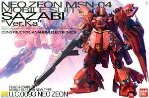 *w/Premium Decal MSN-04 Sazabi Ver.Ka (MG) (Gundam Model Kits)