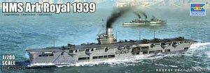 イギリス海軍 航空母艦 アーク・ロイヤル 1939 (プラモデル)