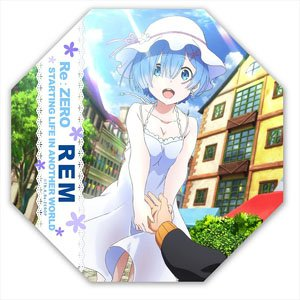 Re Life In A Diffe World From Zero Desktop Mini Umbrella Rem Anime Toy