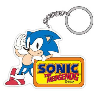 Sonic The Hedgehog Classic Sonic Acrylic Key Ring Anime Toy Hobbysearch Anime Goods Store