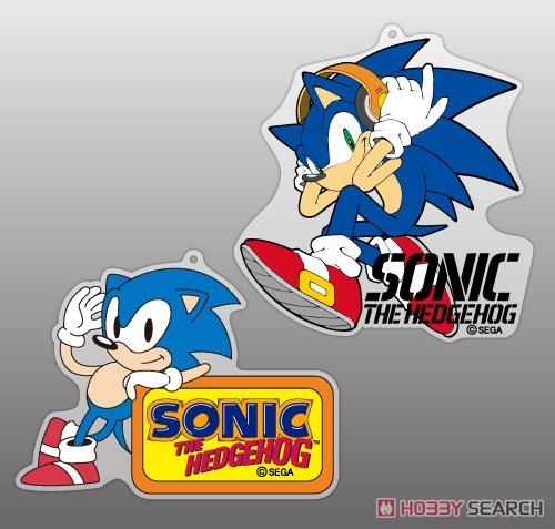 Sonic The Hedgehog Classic Sonic Acrylic Strap Anime Toy Hi Res Image List