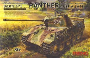 German Medium Tank Sd.Kfz.171 Panther Ausf.A Late (Plastic model)