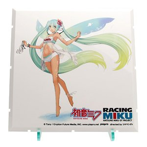 Dioramansion 150: Racing Miku Pit 2017 Optional Panels Thai Support Full Ver. (Anime Toy)