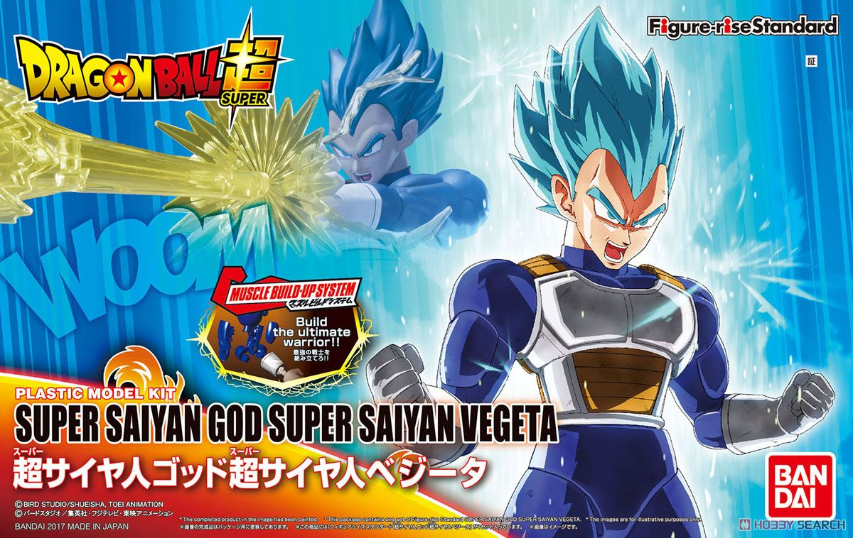 Figure-rise Standard Super Saiyan God Super Saiyan Vegeta (Plastic model) Package1