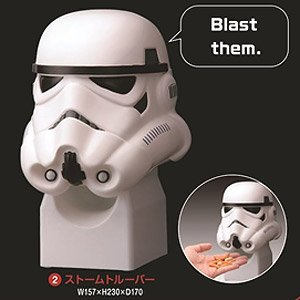 Star Wars Nibbles Server Stormtrooper (Character Toy)