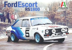 Ford Escort Rs1800 Mk.II (Model Car)