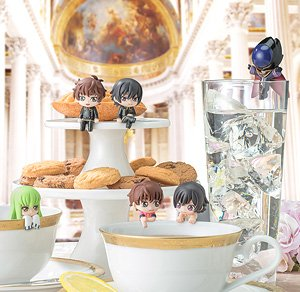 Ochatomo Series Code Geass Lelouch of the Rebellion All Right! I Will Get on! That Cup! (Set of 8) (PVC Figure)