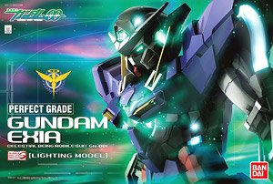 Gundam Exia (Lighting Model) (PG)  (Gundam Model Kits)