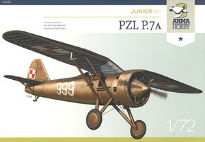 PZL P.7a [Junior Set] (Plastic model)