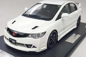 Honda Civic FD2 Mugen RR (White) (ミニカー)
