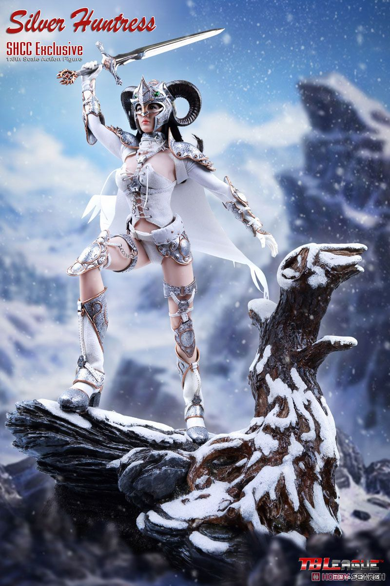 TB Leagued 1/6 Action Figure Silver Huntress SHCC2017 Limited (Fashion Doll) Item picture1