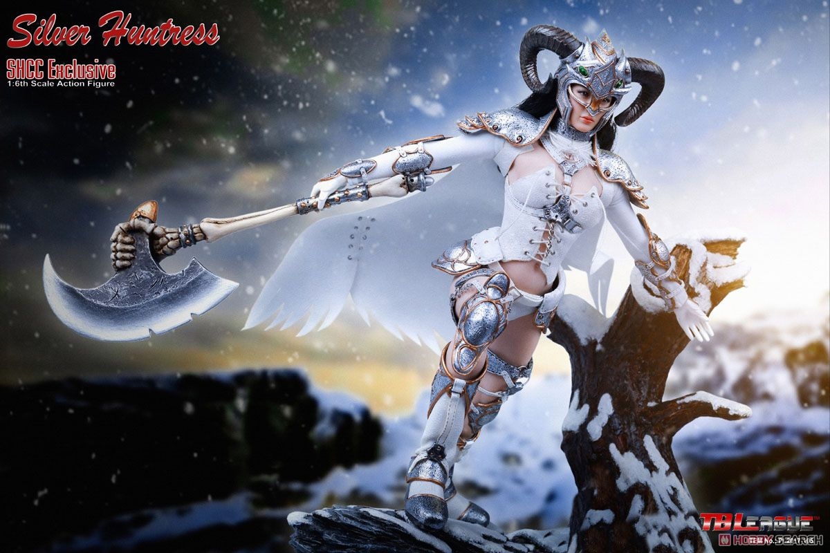 TB Leagued 1/6 Action Figure Silver Huntress SHCC2017 Limited (Fashion Doll) Item picture3