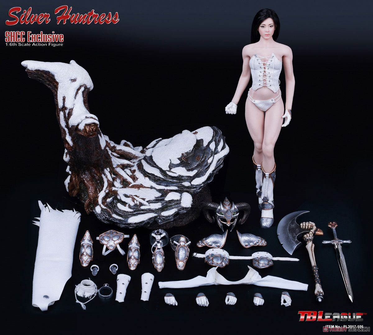 TB Leagued 1/6 Action Figure Silver Huntress SHCC2017 Limited (Fashion Doll) Item picture8