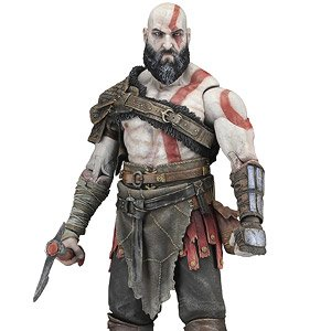God Of War 2018 Kratos 1 4 Action Figure Completed