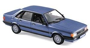 アウディ 80 クアトロ 1985 メタリックブルー (ミニカー)