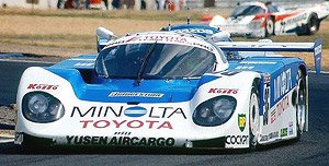 MINOLTA Toyota 89C-V (#36) 198...