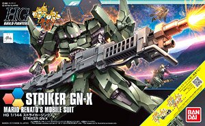 Striker GN-X (HGBF) (Gundam Model Kits)