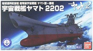 Space Battleship Yamato 2202 Mecha Collection Space Battleship Yamato Plastic JP
