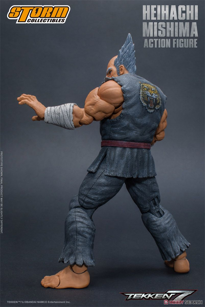 Tekken 7 Action Figure Heihachi Mishima (PVC Figure) Item picture5