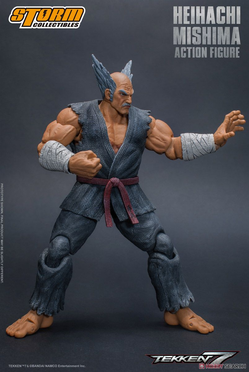 Tekken 7 Action Figure Heihachi Mishima (PVC Figure) Item picture6