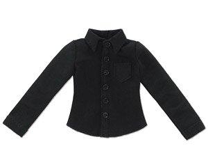 PNXS 長袖Yシャツ (ブラック) (ドール)