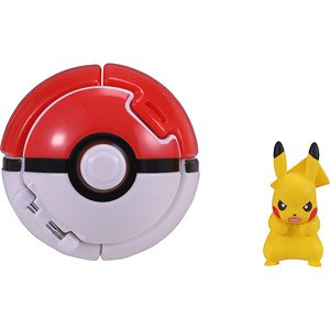 Monster Collection Pokedel-Z [Pokeball & Pikachu] (Character Toy)