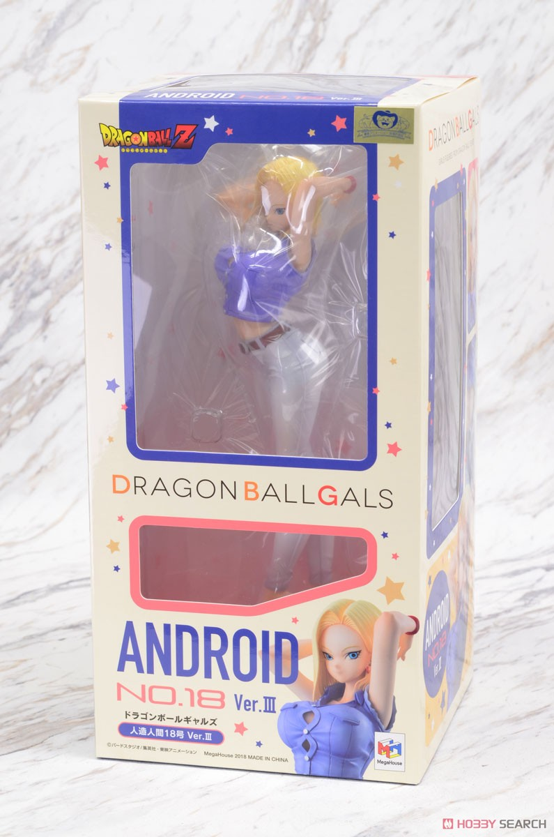 Dragon Ball Gals Android No.18 Ver.III (PVC Figure) Package1