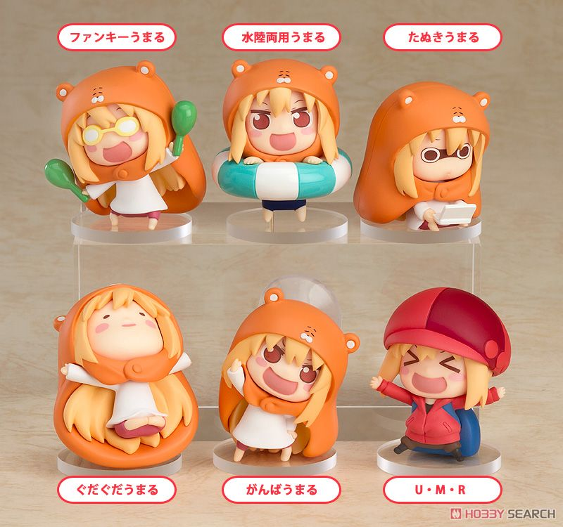 Himoto! Umaru-chan Trading Figures #2 (Set of 8) (PVC Figure) Item picture1