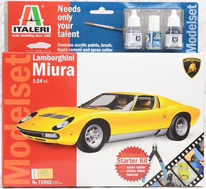 Lamborghini Miura - Model Set - (Model Car)