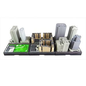 Geocraper Basic Unit Middle-rise Building Set Type-A (Completed)