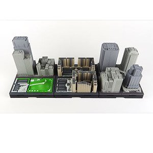 Geocraper Basic Unit Middle-rise Building Set Type-B (Completed)