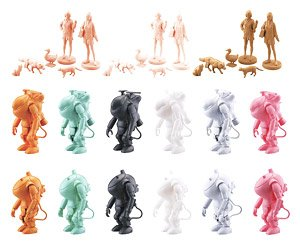 35 Gacha-nen -Kow Yokoyam World- JK Friends (Set of 15) (Plastic model)