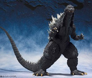 S.H.MonsterArts Godzilla (2002) (Completed)