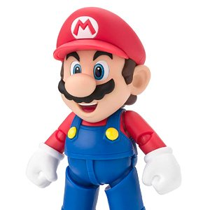 S.H.Figuarts Mario (New Package Ver.) (PVC Figure)