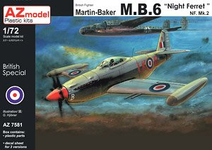Martin Baker MB.6 `Night Ferret` (Plastic model)