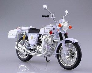 Honda Cb750 Four K0 Police Motorcycle Diecast Car