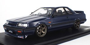 Nissan Skyline GTS-R (R31) Blue Black (ミニカー)
