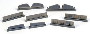 P-40 Control Surfaces Set (for Special Hobby) (Plastic model)