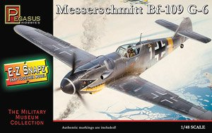 Messerschmitt Bf109G-6 (Snap Kit) (Plastic model)