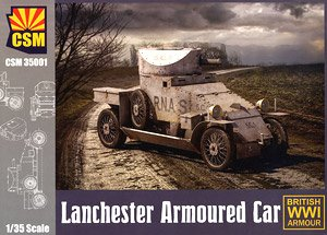 Lanchester 4x2 Armored Car (Plastic model)