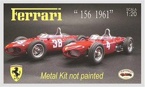 Ferrari 156 1961 (Unpainted Kit) (Metal/Resin kit)