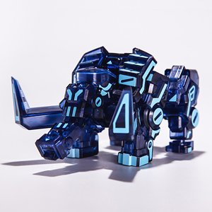 BeastBox 04 BB04-NB Moma Neon Blue (Character Toy)