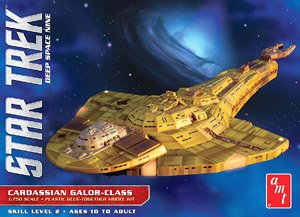 Star Trek Deep Space Nine Caroassian Galor-class (Plastic model)