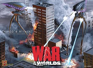 Tripod`s Attack! War of the Worlds (Plastic model)