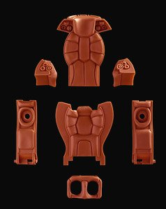 S.A.F.S./ Raptor Interior Parts (Plastic model)