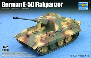 German E-50 Flakpanzer (Plastic model)