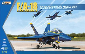 F/A-18A/B/C/D Blue Angels 2017 (Plastic model)